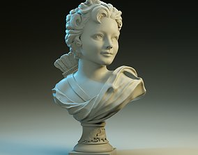 Bust of Cupid 3D print model