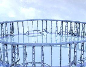 Railway track bridge full 3D