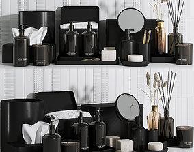 Zara home bathroom set 3D model