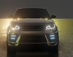 2016 Custom Land Rover Range Rover Sport 3D model