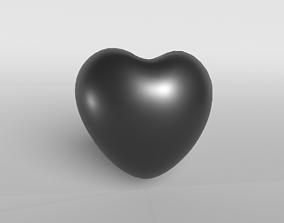 3D asset Black Heart