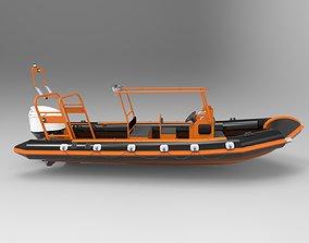 Patrol Boat 3D asset