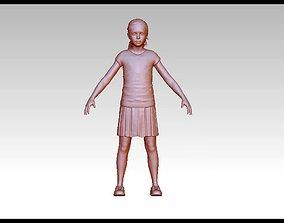 3D print model Teen realistic cute girl