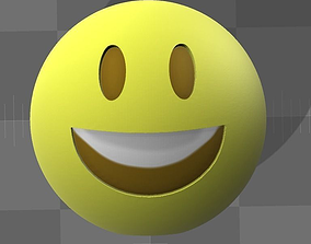 smiley 3D printable model Emoji