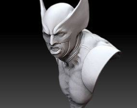 Wolverine 3D bust