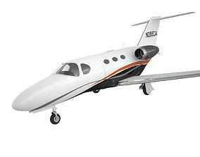 Cessna Citation 510 Mustang private aviation jet 3D model