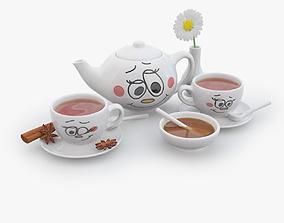 Tea For Two 3D model