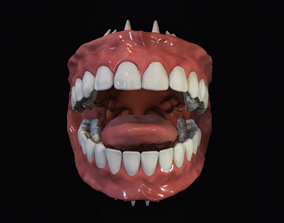 Teeth - Mouth for character 3D asset