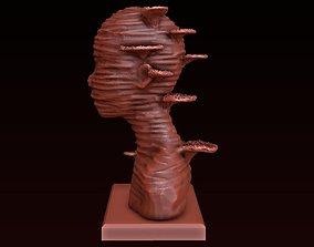 Sculptural bust 3D printable model