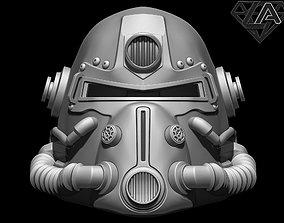 3D printable model Fallout T-51b custom helmet