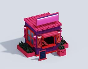 VOXEL MINI SHOP T1 3D model