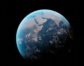 3D model Earth photorealistic