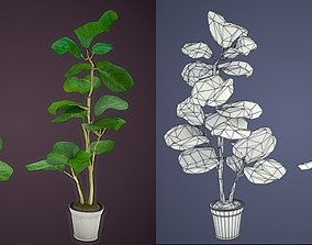 VR / AR ready Game-ready Philodendron model