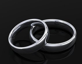 wedding ring comfort nice 3D print model
