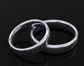 wedding ring comfort nice 3D print model