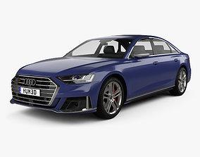 Audi S8 L 2020 3D