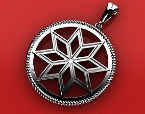 3D printable model Amulet Alatiyr pendant
