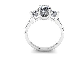 3D printable model Diamond Trilogy Engagement