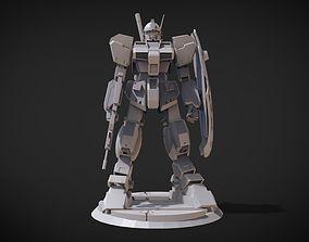 3D print model RGM-79Q GM Quel