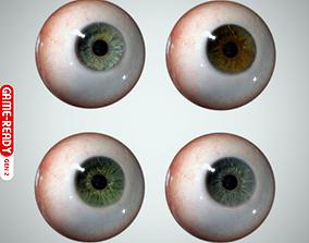 3D model game-ready Eyeball