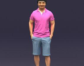 3D print model Differ collors man 0394