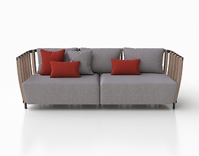 Sofa XL by Ethimo 3D model