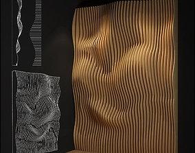 parametric wall furniture 3D