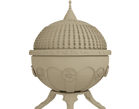 Ayasofya Sekerlik Hagia Sophia themed 3D printable model 1