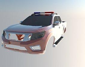 Nissan Frontier 2017 3D print model