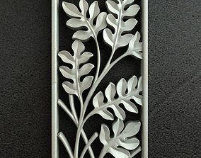 3D Carving Leaf 002
