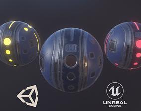 3D asset Sci fi Sphere