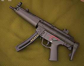 Heckler and Koch MP5 3D