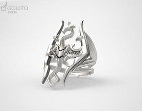 3D printable model Skyrim Gothic Ring