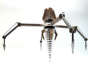 3D print model Drill-robot