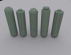 3D printable model Green Arrow arrow heads