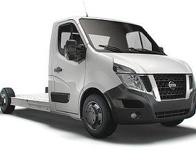 Nissan NV400 FWD LL35 L3H1 Platform Cab 2014 3D