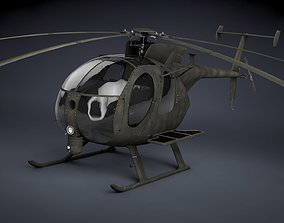 MH-6 Little Bird SOAR Transport 3D asset