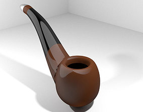 Smoking Pipe - Bent 3D