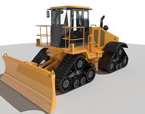 3D asset High Speed Dozer
