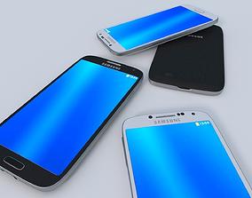 3D model Samsung Galaxy 4s LTE