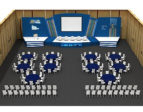 Scenery Decor And Stage Arrangement 73 3D model