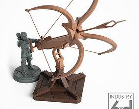 3D printable model Wind Lance Ballista with Operator