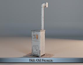 3D asset PBR Old Furnace