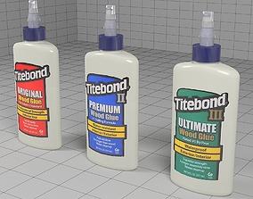 Titebond glue tube 3D model