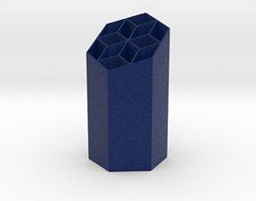Starry Hexagonal Penholder 3D printable model