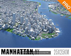 3D New York Chicago San Francisco Los Angeles Miami 1