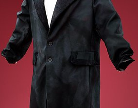 3D asset Big Coat Costume
