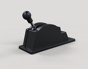 Gear shifter 3D model
