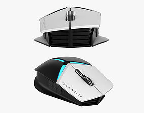 Dell Alienware Elite Gaming Mouse AW958 3D