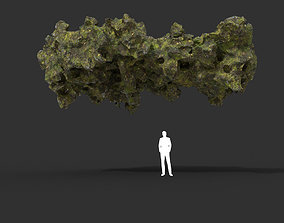 3D asset Low poly Mossy Cave Modular 10 200119
